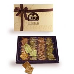 Scatola regalo Croccantini pistacchio e mandorla