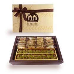 Scatola regalo Ricci e Croccantini al pistacchio