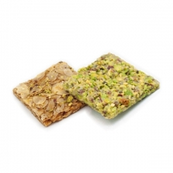 Almond and pistachio Crisps