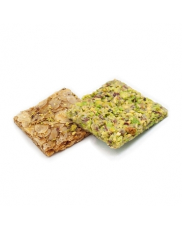 Almond and pistachio Crisps
