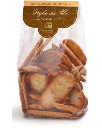 Sicilian Almond Tea Leave Biscuits