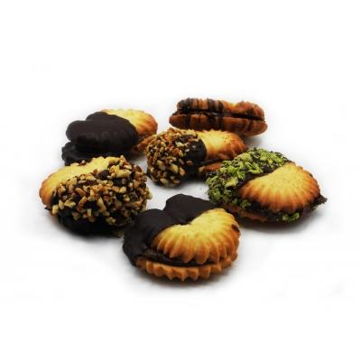 biscotti farciti al cioccolato