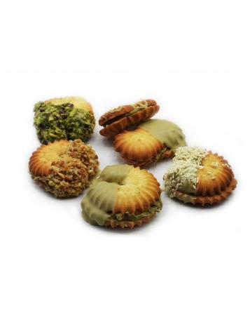 biscotti farciti al pistacchio